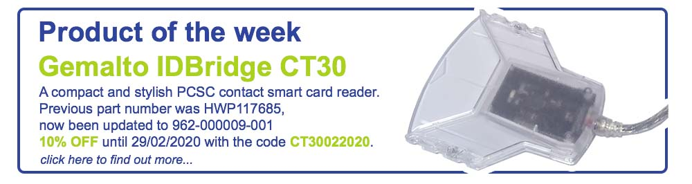 Product of the week - Gemalto CT30