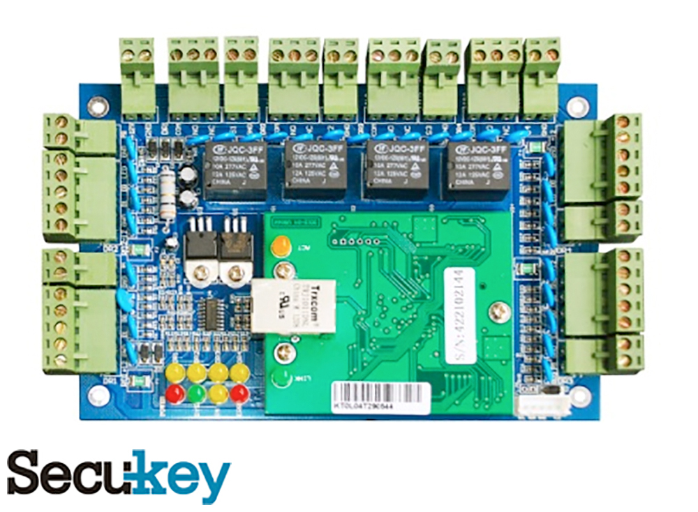 Secukey C4 Four-Door TCP/IP Controller Image