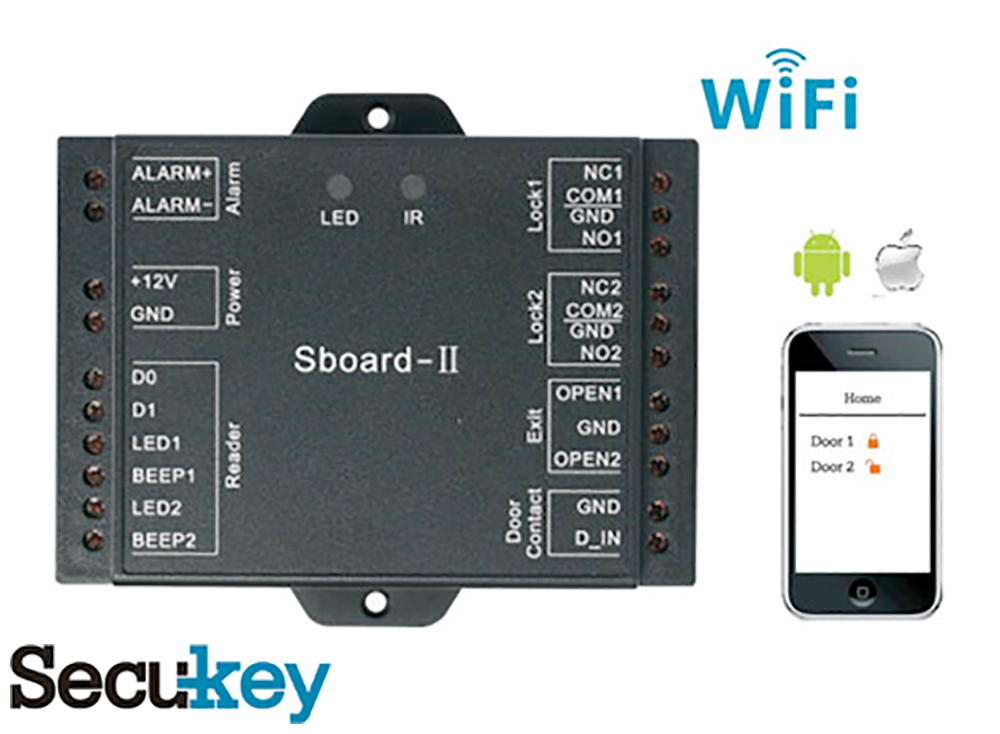 Secukey SBoard-II Mini Two-Door Controller Image