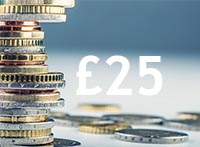 £25 Credit Package Image