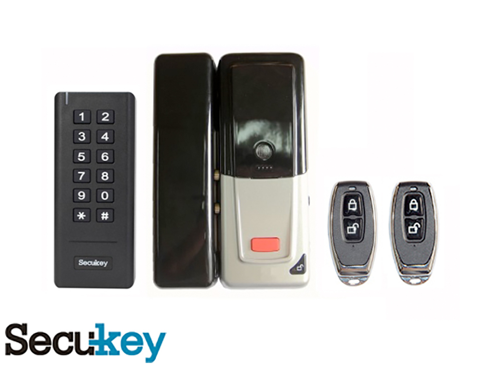 Secukey Wireless DIY Lock Kit Glass Door D2 Image